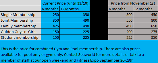 Special Rates until Oct 31st