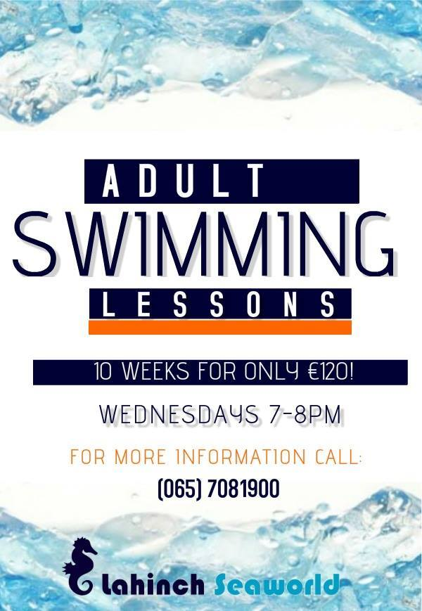New Adult swimming lessons starting the 10th of February