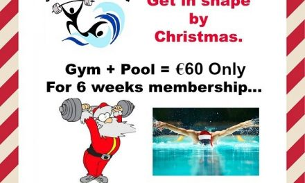 Get into shape for the party season with our 6 week special