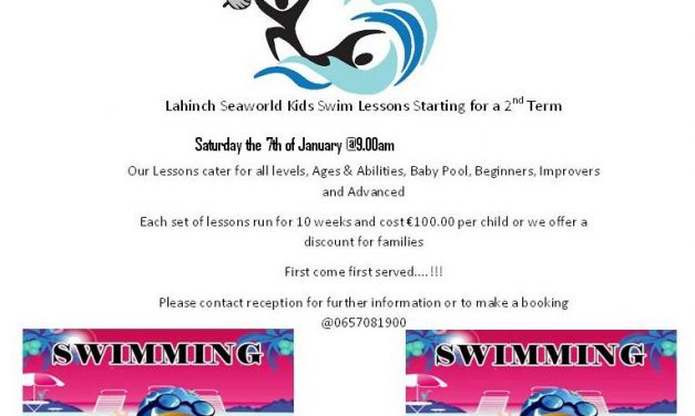 2nd Term of Saturday Kids Lessons Starting the 7th of January