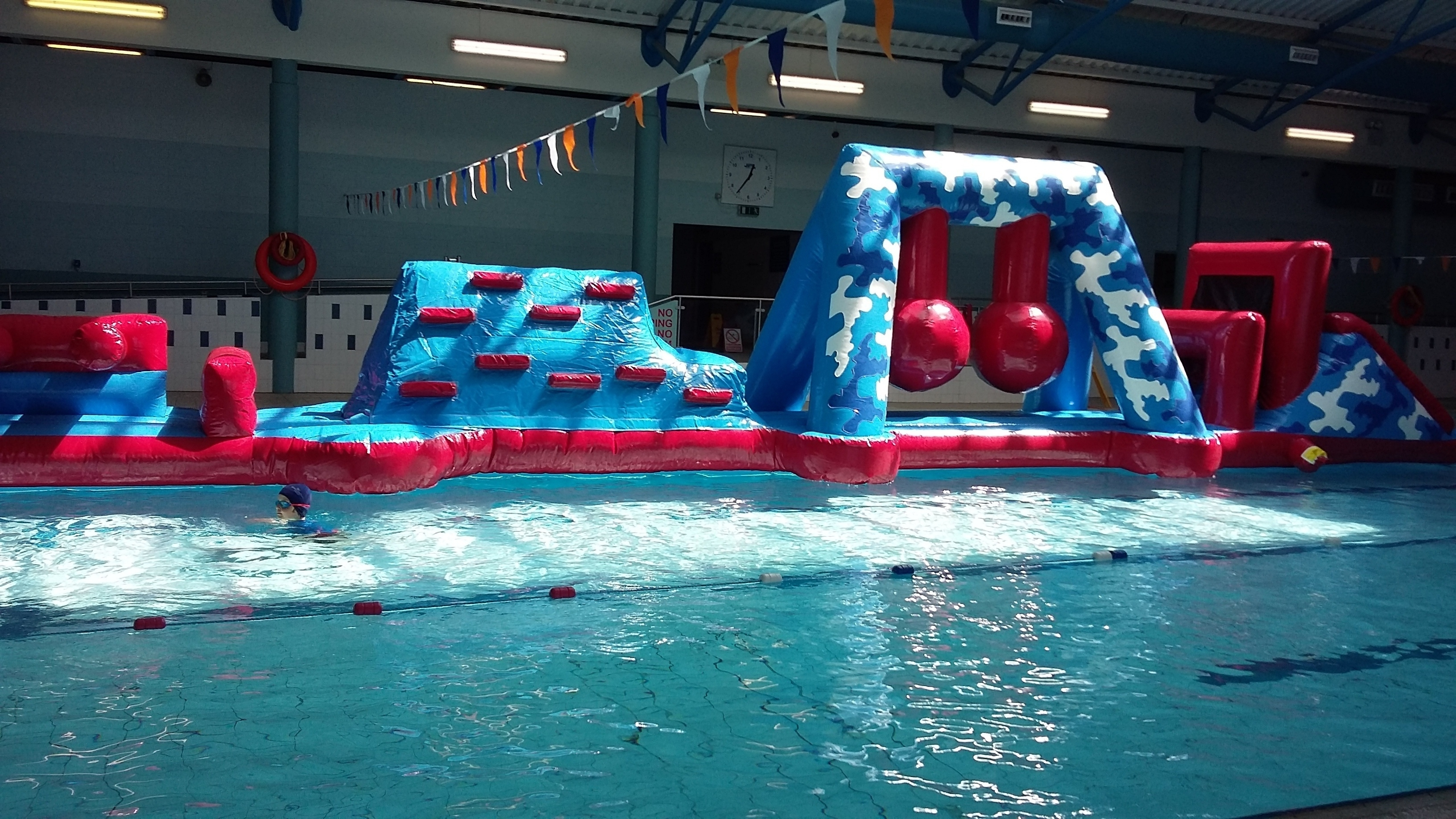 Lahinch Leisure World Gym Swimming Lessons Pool Fitness Check Out Our New Inflatable